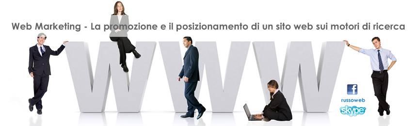 Web Marketing Posizionamento dei motori di ricerca